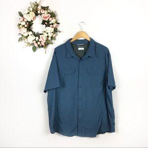Men's Columbia 2XL Fishing Shirt